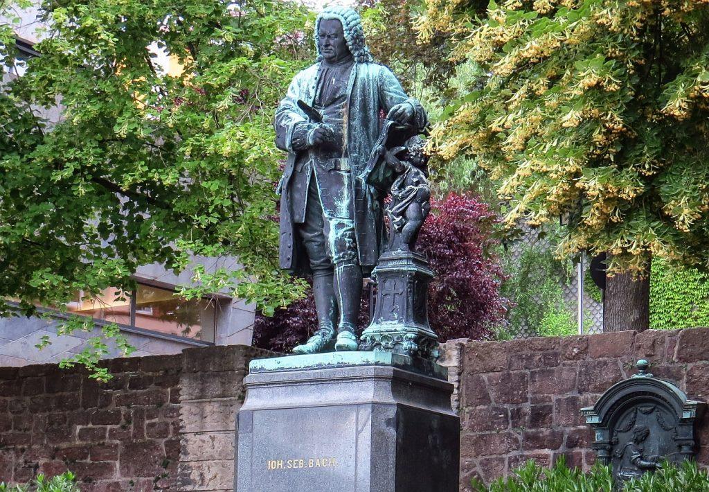Statue von Johann Sebastian Bach