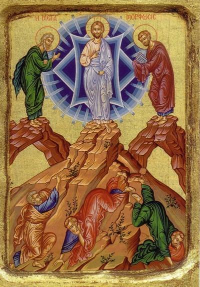 Zweite Ikone von der Verklärung Christi
