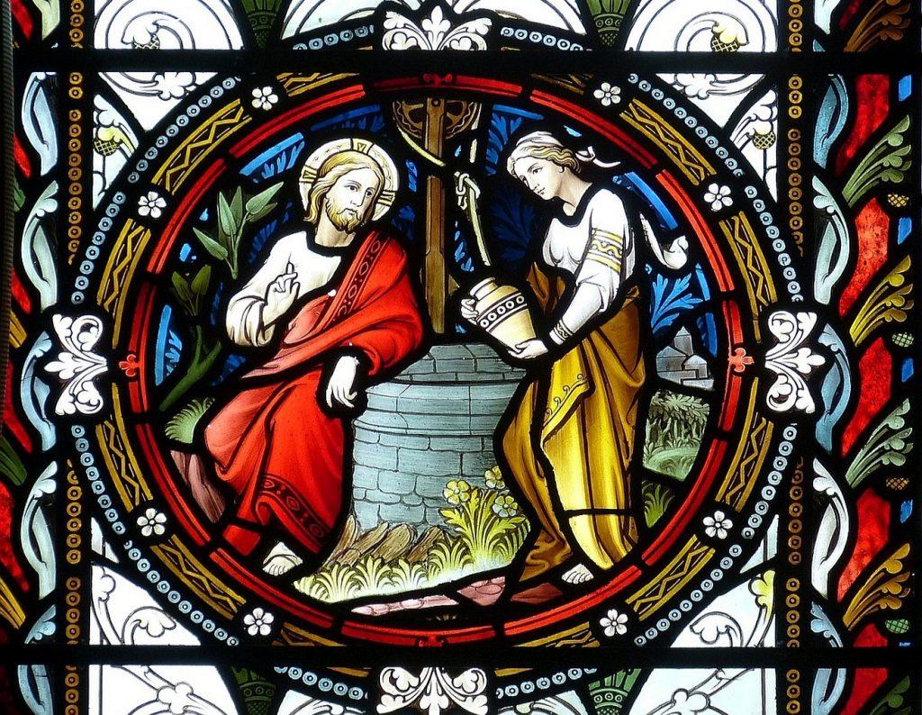 Jesus führt mit der samaritischen Frau am Jakobsbrunnen ein Gespräch: Mission im Dialog