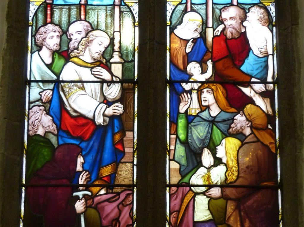 Jesus heilt viele Kranke