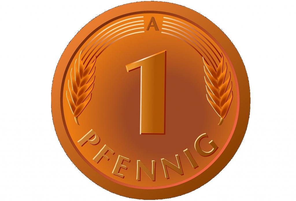 1 Pfennigstück
