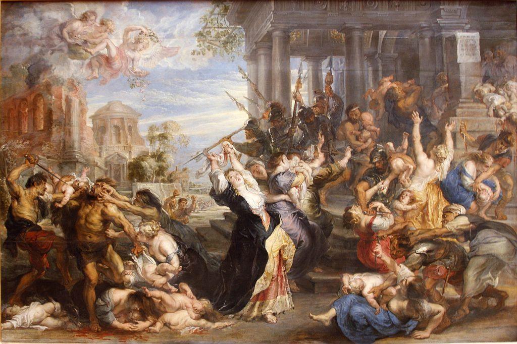 """Das Gemälde """"Der Kindermord zu Bethlehem"""" von Peter Paul Rubens"""