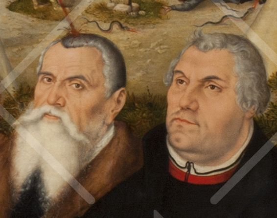 Lucas Cranach und Martin Luther