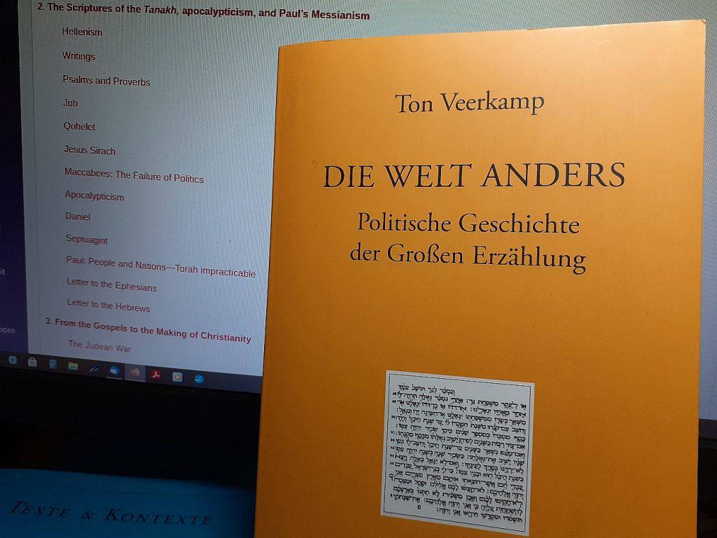 """Titelseite von Ton Veerkamps Buch """"Die Welt anders"""" (Bild: Helmut Schütz)"""